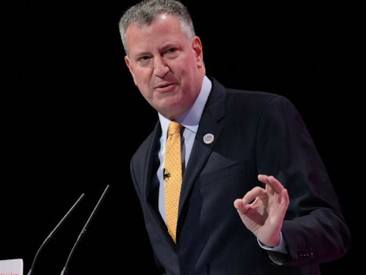 Mayor de Blasio 'Obviously Pleased' Prosecutors Didn't Bring Charges in Fundraising Probes - Breitbart