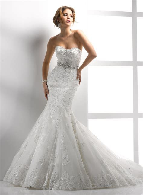 Lace Wedding Dress   DressedUpGirl.com