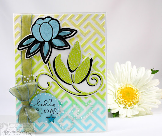 Hello Blooms by Lynn in St. Louis - Cards and Paper Crafts at Splitcoaststampers
