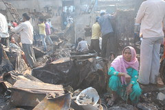 International Women's Day 2011 At Garib Nagar Bandra East After The Fire by firoze shakir photographerno1