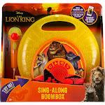 eKids - Disney The Lion King Sing-Along Boombox Portable Karaoke System - Yellow/Orange