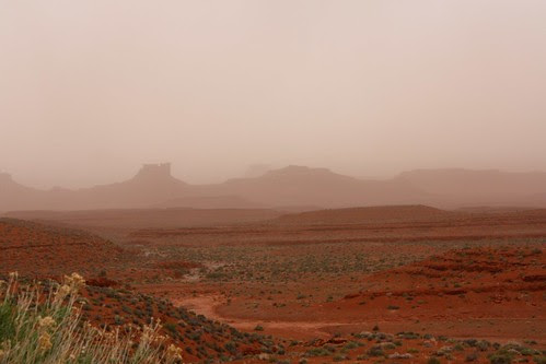 Sandstorm Valley of the Gods
