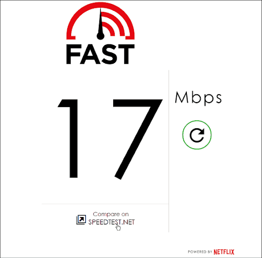 Netflix Launches Download Speed Test Fast.com