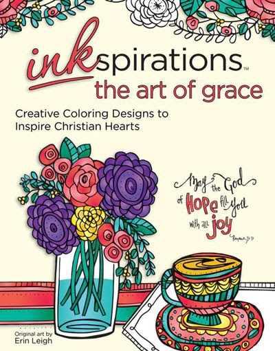 Inkspirations The Art Of Grace – Coloring Book Review And Giveaway
