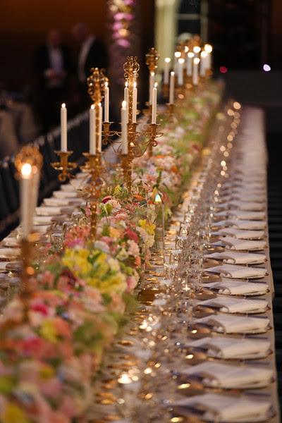 Menu du dîner de gala des Prix Nobel 2016