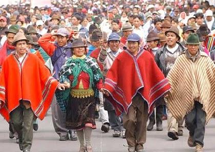 Resultado de imagen para pueblos indigenas en ecuador