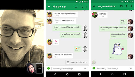 Hangouts eavesdrops on your chats to offer 'smart suggestions'