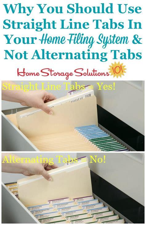 home filing tips  simple ways   filing easier