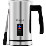 Zeppoli Milk Frother and Warmer - Automatic Milk Heater, Electric Milk Steamer