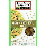 Explore Cuisine Organic Penne, Green Lentil - 8 oz pack