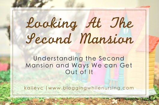 Looking At The Second Mansion - Blogging While Nursing