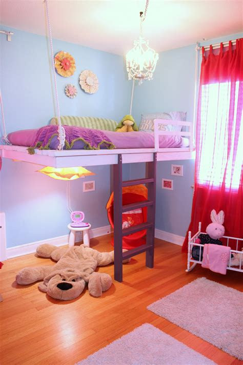 ana white build  loft bed  win  daughters heart