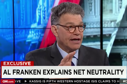 Video: Al Franken destroys Ted Cruz for getting net neutrality 'completely wrong'
