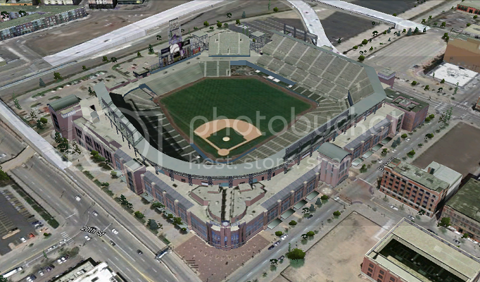 Coors Field (Colorado; Denver); 3D model by Camelot