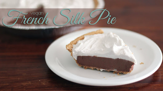 Vegan French Silk Pie