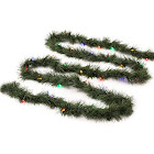 Philips 18' Christmas Prelit Led Artificial Garland, Multicolored