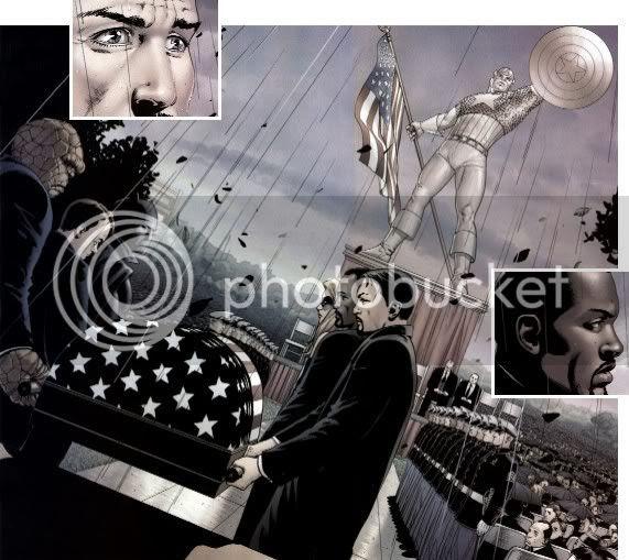 Capitão América: Morre Uma Lenda