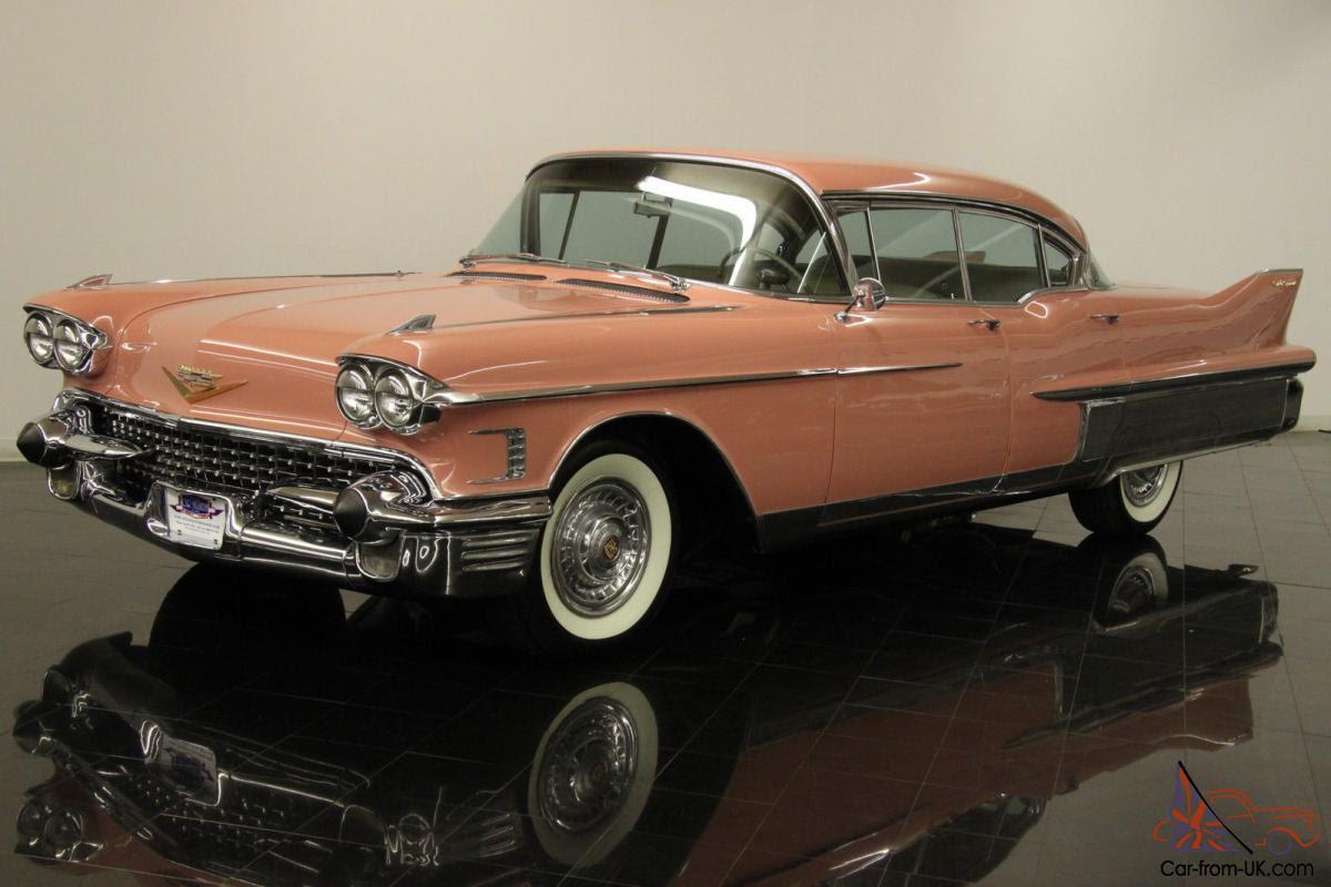 1958 Cadillac Fleetwood Sixty Special 4 Door Hardtop Sedan ...