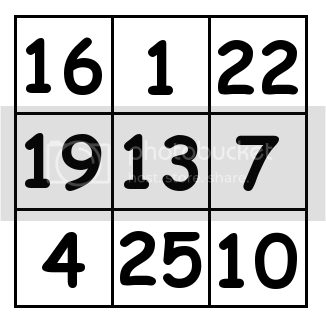 3 by 3 grid Solution 1