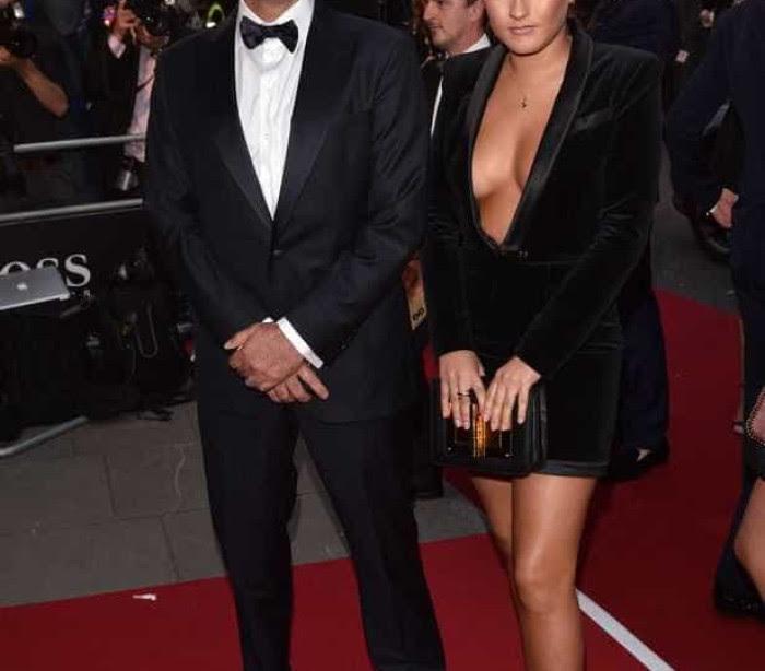 Mourinho e a sua (não tão pequena) filha.