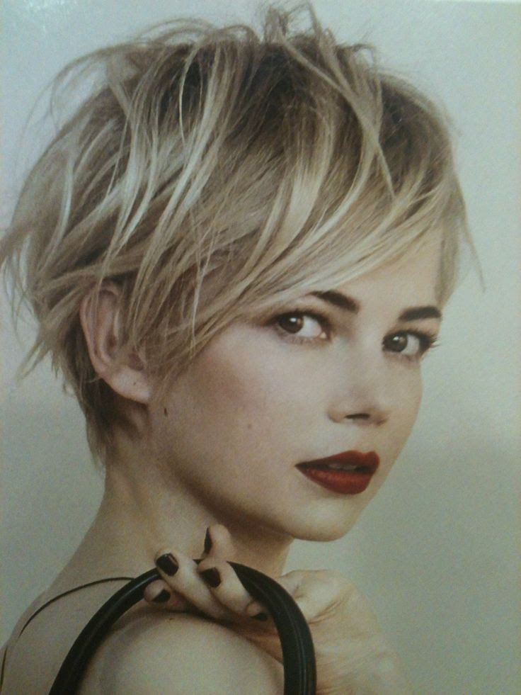 Hot and Sexy Short Blonde Hairstyles Ohh My My