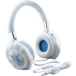 eKids - Frozen II Wired On-Ear Headphones - White/Light Blue
