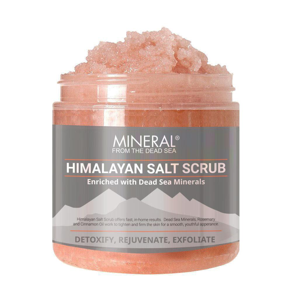 Dead Sea Salt Scrub Review - facial scrub