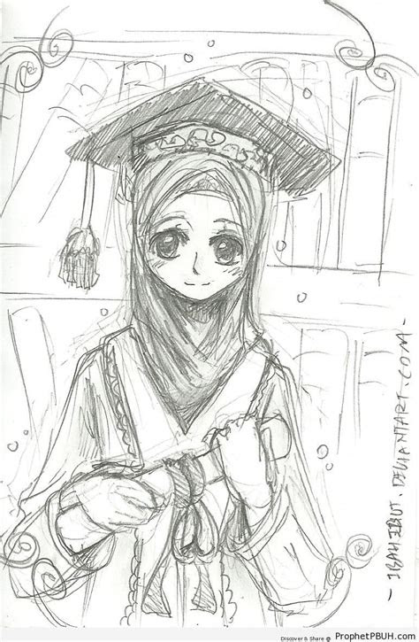graduation drawings college graduation coloring page