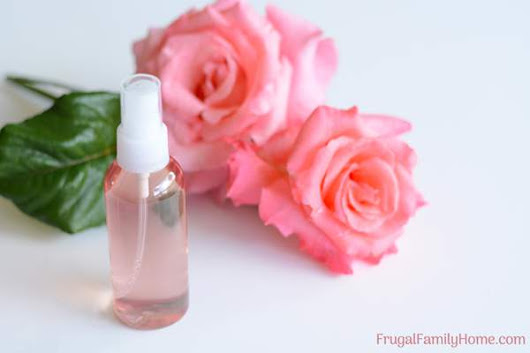 How to Easily Make Homemade Rose Water