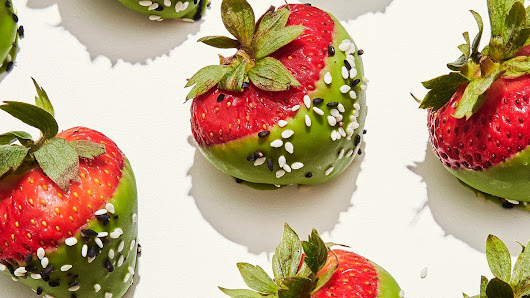 Chocolate Covered Strawberries With a Twist | Healthyish | Bon Appetit