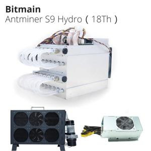 Silent Bitcoin Miner Water Cooling Minner Bitmain Antminer S9 Hydro -