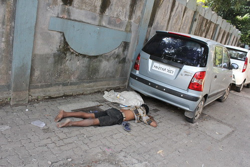 The Common Man Committed Suicide ..Under Netajis Car by firoze shakir photographerno1
