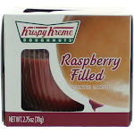 Krispy Kreme Scented Candle 2.75 oz Jar - Raspberry Filled