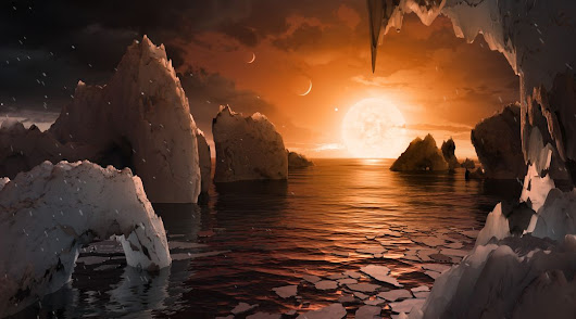 NASA has discovered 7 Earth-like planets orbiting a star just 40 light-years away