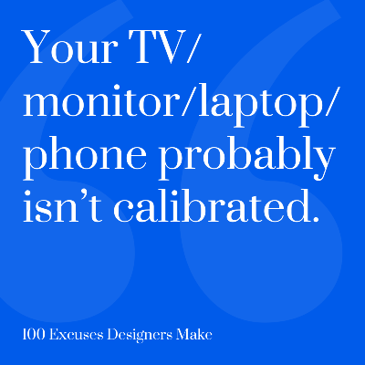 100 Excuses for Designers – UX Power Tools