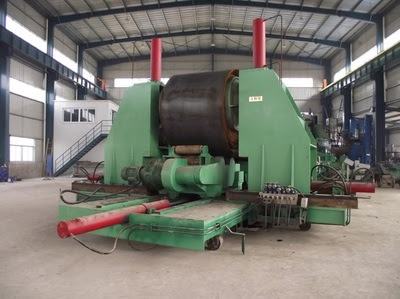 HUAYE LARGE DIAMETER SPIRAL PIPE MILL