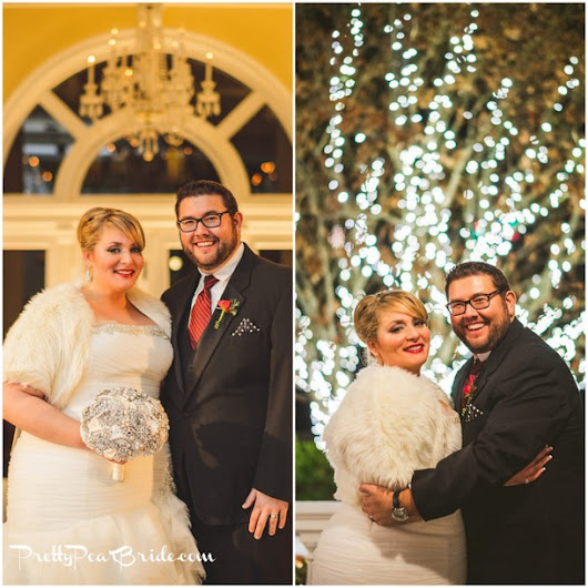 {Real Plus Size Wedding} Winter Wonderland Mad Men Themed Wedding by Sam Hurd Photography