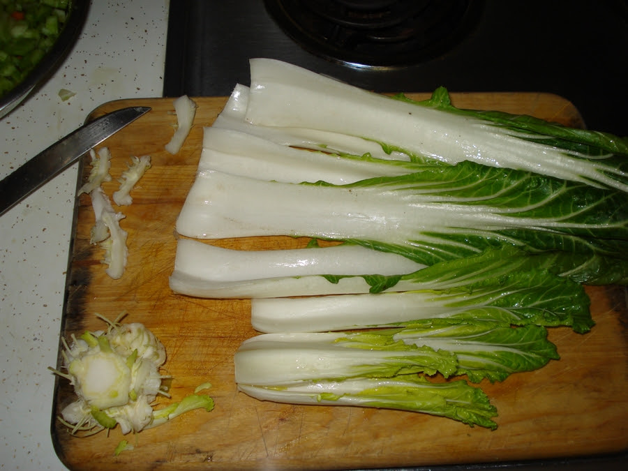 14 bok choy ends small