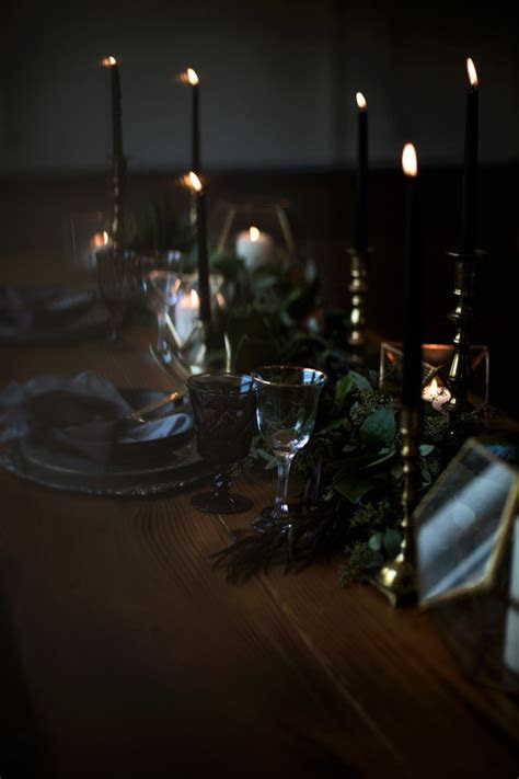 Dark and moody wedding inspiration   Wedding & Party Ideas