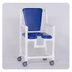 "IPU 17"" New Comfortable Shower Chair, Gray"