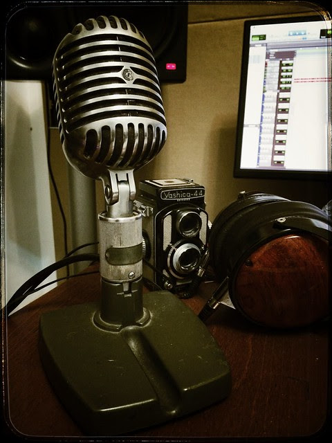 The White Notes: Shure 556B Fatboy 拿來當 talkback
