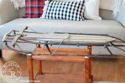 Unique Coffee Tables Made From Vintage Finds - Rustic Crafts & Chic Decor
