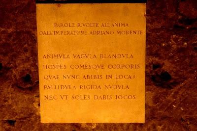 Resultado de imagen de Animula vagula blandula hospes comesque corporis quae nunc abibis in loca pallidula rigida nudula nec ut soles dabis iocos