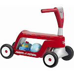 Radio Flyer Scoot 2 Scooter Ride-On, Red
