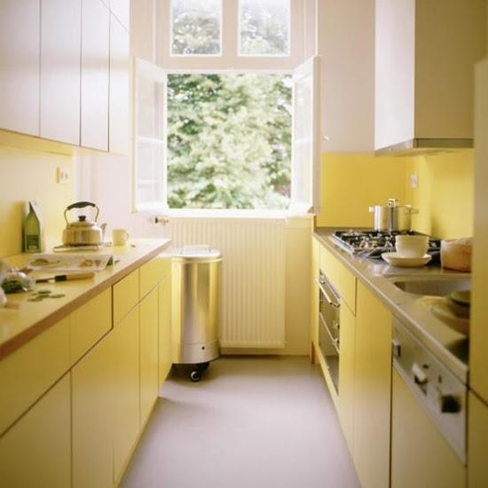 Küche : kleine küche farblich gestalten Kleine Küche , Kleine ...