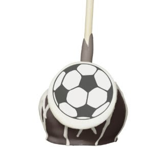 Soccer Ball pattern Cake Pops