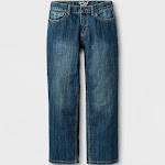 oversizeBoys' Relaxed Straight Fit Jeans - Cat & Jack Blue