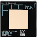 Maybelline Fit Me Matte + Poreless Powder - 100 Translucent - 0.29oz