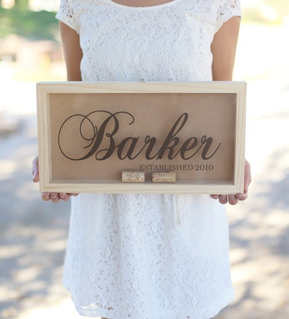 Personalised Wedding Gifts Quick Delivery : ... Custom Wedding Gift Rustic Barn Wedding Bridal Shower Present QUICK