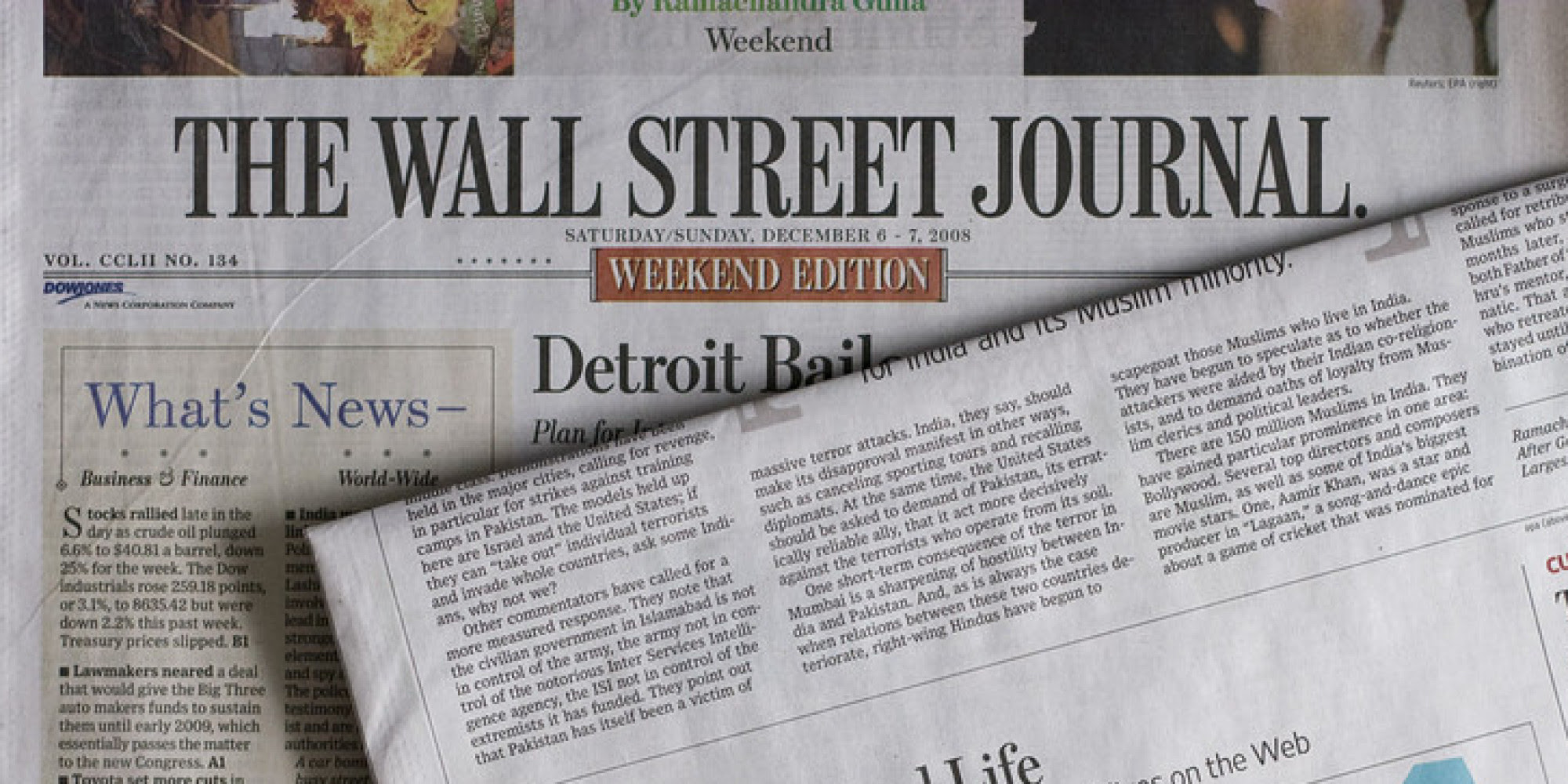 Resultado de imagen para wall street journal en español